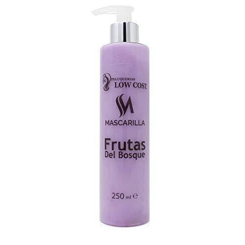 PLC PELUQUERIAS LOW COST Mascarilla de pelo frutas del bosque 250 ml