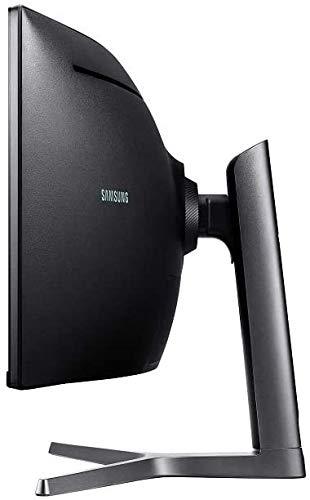 Samsung C49RG94SSU 124,20 cm (49 Zoll) Curved Gaming Monitor (5120 x 1440 Pixel, Dual WQHD 32:9 Format, 120Hz, 4ms) schwarz