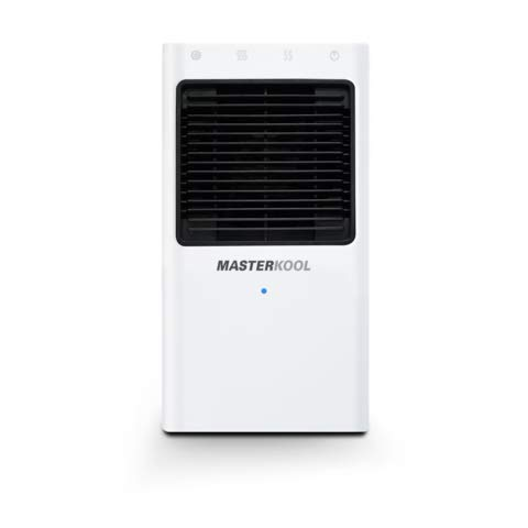 iKool mini Portable Evaporative Air Cooler 2 Fan Speeds Personal Space Air Cooler and Humidifier 1.3Ltr Tank High Efficiency Cooling Pads. Suitable For Home or Office Use. (White)