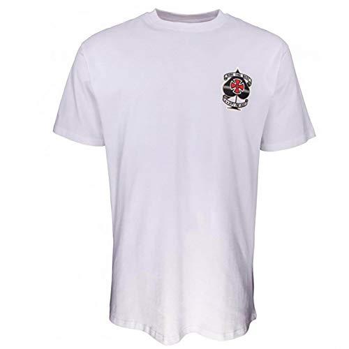 Independent Ante Camiseta Hombre Blanco