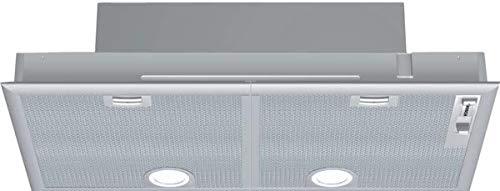 Bosch DHL755BL Serie 4 Lüfterbaustein / C / 75 cm / Silbermetallic / wahlweise Umluft- oder Abluftbetrieb / Schiebeschalter / Intensivstufe / Metallfettfilter (spülmaschinengeeignet)
