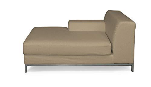 Dekoria Kramfors Recamiere Links Sofabezug Sofahusse passend für IKEA Modell Kramfors beige