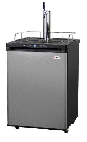 Kegco K309SS-1 Full Size Digital Kegerator - Stainless Steel