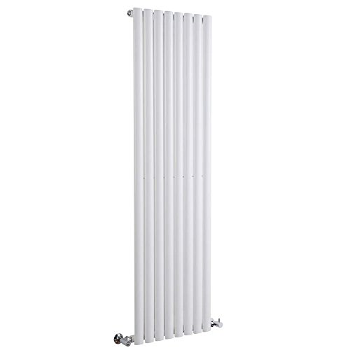 Milano Radiador de Diseño Revive Vertical - Blanco - 1122W - 1600 x 472mm