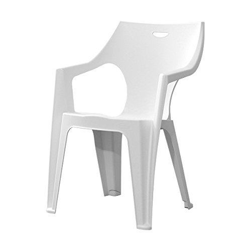 ガーデンデザインチェア4脚セット【アンジェロ -ANGELO-】(ガーデン イス 4脚)ホワイト
