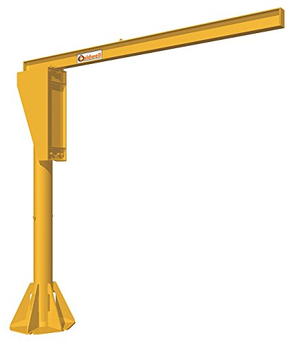 New Caldwell A360-3-16/12, Floor Mounted Jib Crane, 3 Ton, 16' Height, 12' Span