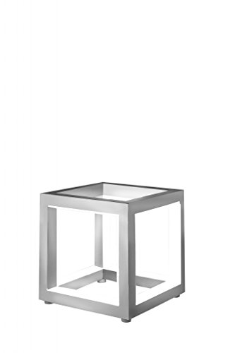 sompex LED Tischleuchte Delux in Würfelform - Verschiedene Größen - Aluminium, Größe:Klein (12cm)