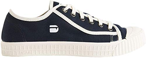 G-STAR RAW Damen Rovulc Denim Low Sneakers, Blau (Dark Navy 881), 41 EU