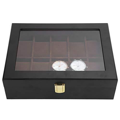 Vitrina De Reloj De Pulsera, Color Brillante Omfortable Y Resistente Al Desgaste Caja De Almacenamiento De Reloj Para Favoritos