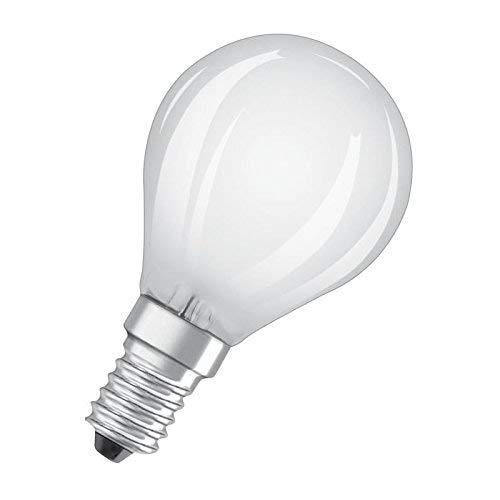 Osram Star+ Ampoule LED à Filament Haute Définition des Couleurs | Culot E14 | Forme Sphérique | Blanc Chaud 2700K | 5W (équivalent 40W)
