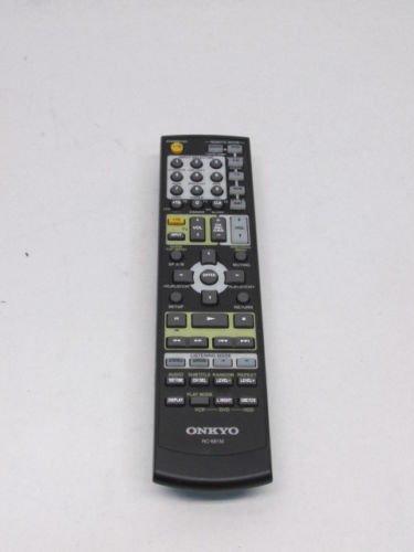 Onkyo Original OEM RC-681M HT-R550 HT-SR800 HT-SR800B HT-SR8000S TX-SR505 TX-SR575 TX-SR575X TX-SR8550 Remote Control