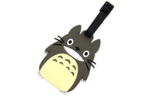 CellDesigns Anime Totoro Luggage Tag Suitcase ID Tag with Strap