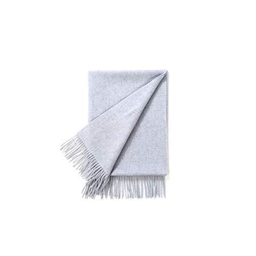 Zunruishop Schal Wickeln Schal Damen Schal Langer Wollschal Klassische Art Warm Soft Light Schal Schal und Schal (Color : Blue)