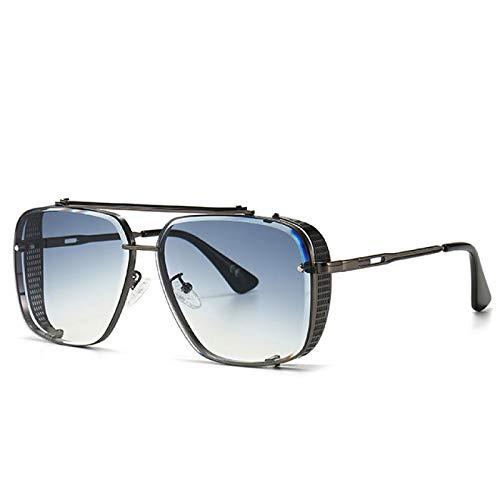 NJJX Estilo Gradient Gafas De Sol Mujer Moda Hombre Vintage Gafas De Sol 2A115C1