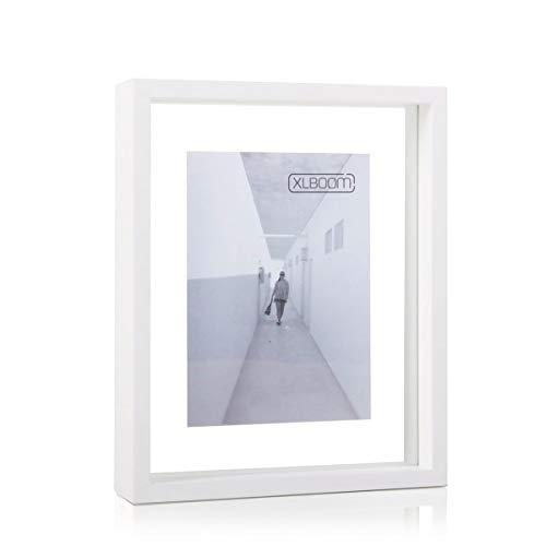 XL Boom Floating Box Photo Frame, 20 x 25 Colour: XLBoom White