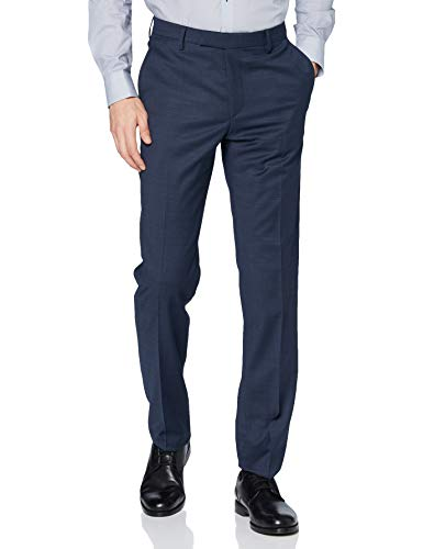 Pierre Cardin Herren Futureflex Dupont Anzughose, blau, 24