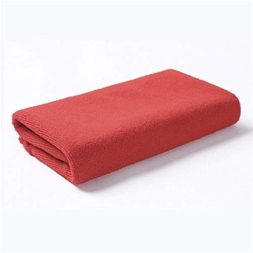 PENVEAT - Toallas de Microfibra para Limpieza de Cocina, multifunción, prácticas, para Limpieza de aparatos, Toallas, absorbentes, Color Rojo Brillante, 30 x 30 cm, 2 Unidades