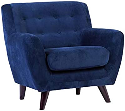 Amazon.com: Hebel Mid-Century Isaiah Upholstered Accent Arm ...