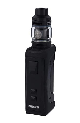 GeekVape Aegis X 200 Watt + Zeus Subohm 5ml Tank im E Zigarette Set - Farbe: schwarz