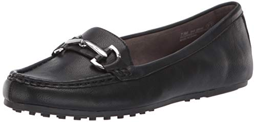 Aerosoles Women's Day Driving Style Loafer, Black, 6.5