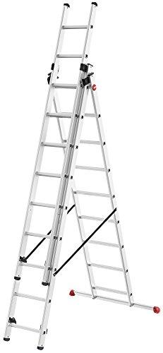 Hailo 7309-007profesional Step, peldaños: 3x 9