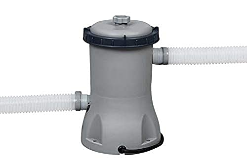 BESTWAY 58383 - Depuradora de Filtro de Cartucho 2.006 L/H para Mangueras de Conexión de 32 mm Para Filtros de Tipo II Indicada para Piscinas con Capacidad de 1.100-14.300 L