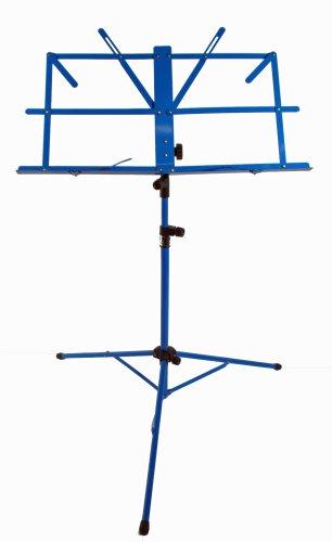 Cherrystone 4260180888331 Stabiler Notenständer/zusammenklappbar blau