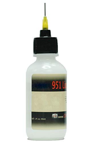 Kester 951 Liquid Soldering Flux, No-Clean, 2-ounce Bottle