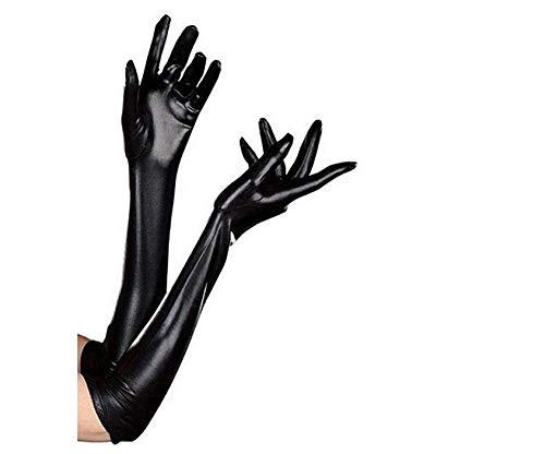 Lackhandschuhe dünne Lange Handschuhe Pole Dance Handschuhe