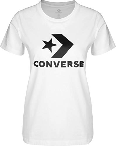 Converse Star Chevron Core W Camiseta Optical White