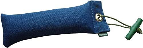 Romneys Junior Dummy mit Wurfgriff 250 g, blau - Für das Apportiertraining/Apport und die Hundeausbildung