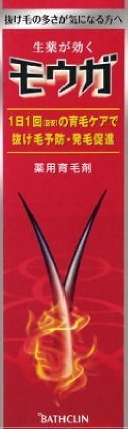 暴露株式しなければならないバスクリン モウガ 薬用育毛剤 120ml 医薬部外品 1本で約2か月間使える ×12点セット (4548514510807)