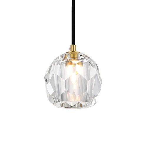 Dmxydd Araña de Luces Lámparas de araña de Cristal clásicas de época Lámpara Colgante de Techo Lámpara Elegante Decoración for Dormitorio Cocina Sala de Estar