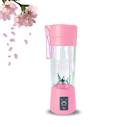 LYYN Tragbarer Entsafter Elektrischer wiederaufladbarer Smoothie-Mixer Maschinenmischer Mini Juice Cup Maker schnelle Mixer Küchenmaschine