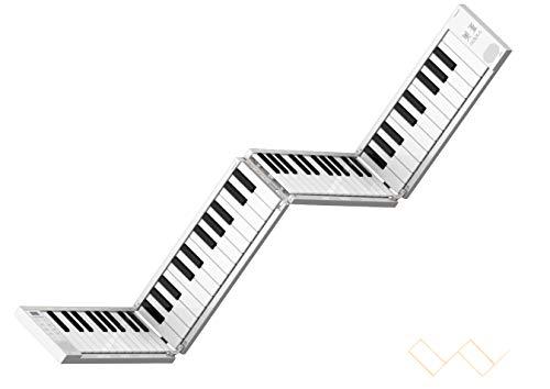 Portable 88-key folding electric piano