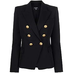 Balmain Luxury Fashion Damen TF0997498132L0PA Schwarz Blazer | Frühling Sommer 20