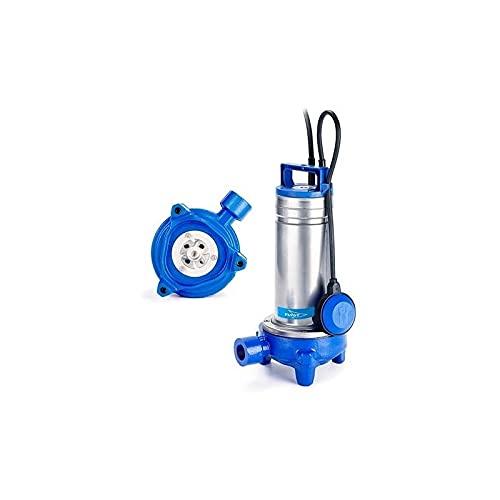 Flygt - Bomba de agua usada Delinox DXGM2511 1,1 kW con triturador de hasta 7 m3/h monofásico 220 V