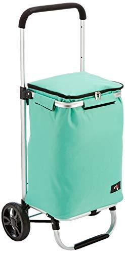 Une 'domo Rx-503002 Rixx chariot de courses 30L de glace, Aluminium, Polyester, plastique, Vert