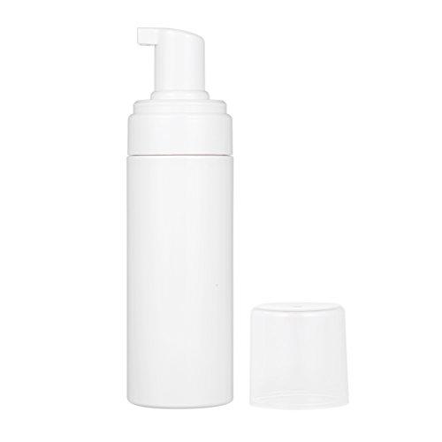 Anself 1St 150ML Schaumspender Seifenspender Flasche, Kunststoff, Weiß