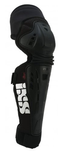 IXS Erwachsene Knee/Shin Guard Assault, schwarz, L