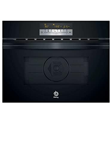 Balay 3CW5179N0 - Microondas integrables con aire caliente, 60 x 45 cm, color Cristal Negro