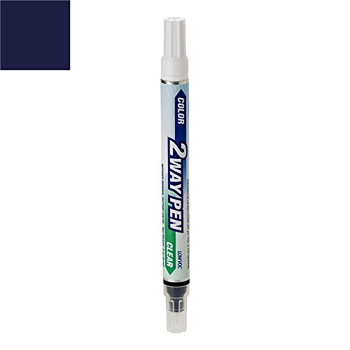 ExpressPaint 2WayPen - Automotive Touch-up Paint for Nissan 350Z - Twilight Blue Pearl Clearcoat BW5 - Color + Clearcoat Only