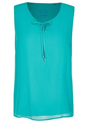 Frapp Damen Kombifreudige Bluse in Uni-Design