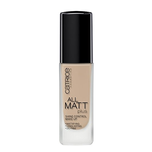 Catrice - base maquillaje all matt plus - shine control - 020 nude bei.