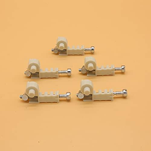 5 tornillos de ajuste de tensor de cadena para motosierra Stihl 017 018 MS170 MS180 MS 170 180 piezas de repuesto 1120 664 1500 1123 664 1605