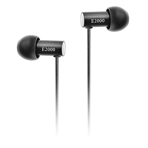 final E2000 Geräuschisolierender In-Ear Kopfhörer - Aluminium Schwarz