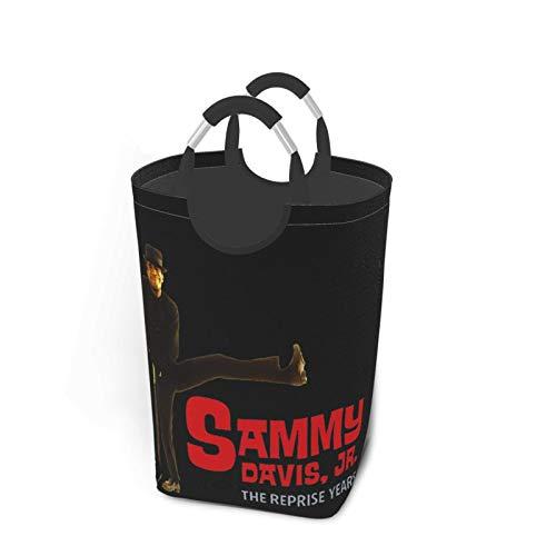 5husihai Sammy Davis, Jr.Large Waterproof Foldable Laundry Hamper, Dirty Clothes Laundry Basket, Linen Bin Storage Organizer for Toy Collection
