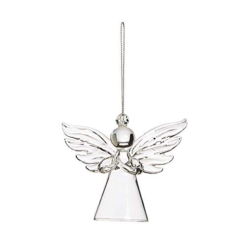 Fun Express Glass Angel Ornaments for Christmas (Set of 12)