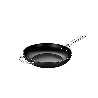 Le Creuset of America Toughened NonStick Deep Fry Pan, 12