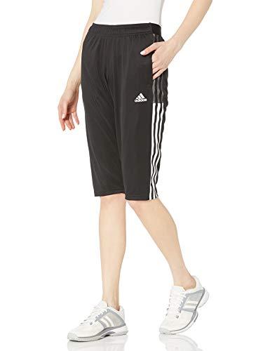 adidas womens Tiro 21 3/4 Pants Black Medium